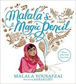 cover of Malala's Magic Pencil